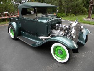 1931 Ford Roadster Pick Up Street Rod Hot Rod Gasser photo
