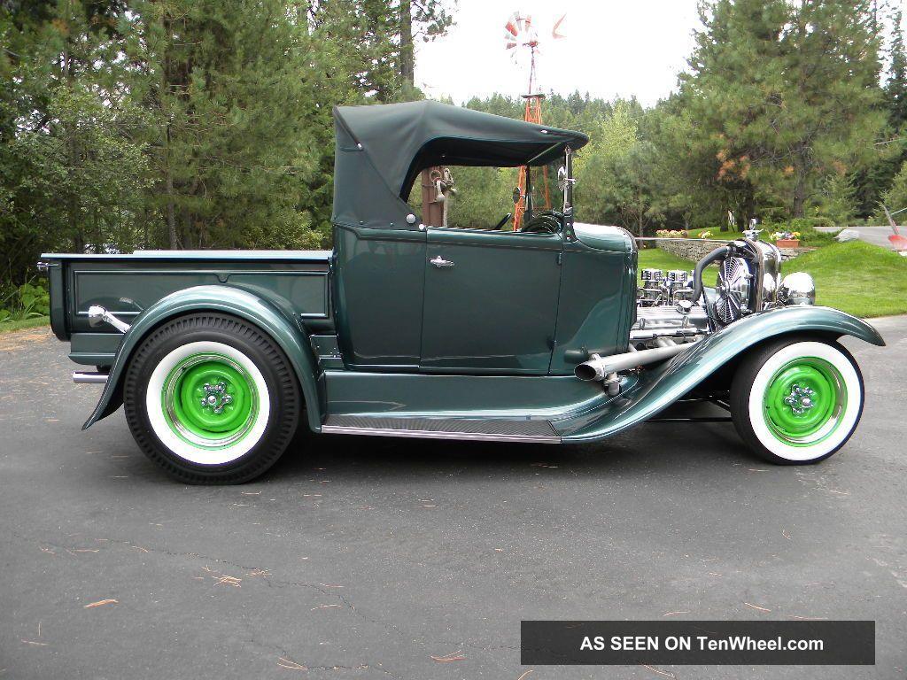 1931 Ford Roadster Pick Up Street Rod Hot Rod Gasser