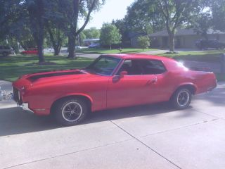 1972 Vintage Oldsmobile Cutalss Supreme,  V8,  Automatic,  Red With Clear Title photo