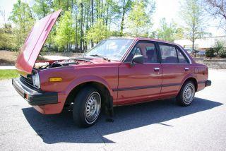 1981 Honda Civic Sedan photo