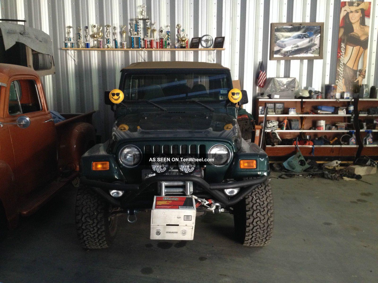 2001 Jeep Wrangler Sahara Sport Utility 2 Door 4 0l Lifted Toyota Sequoia