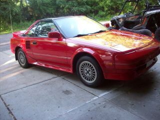 1988 Toyota Mr2 Supercharged Coupe 2 - Door 1.  6l 4agze photo