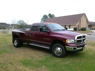 2003 Dodge Ram 3500 Dually 4x4 Automatic 5.  9 Diesel photo