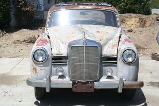 1954 Mercedes Benz 180 W120 011 Ponton With Factory Webasto Vintage Old photo