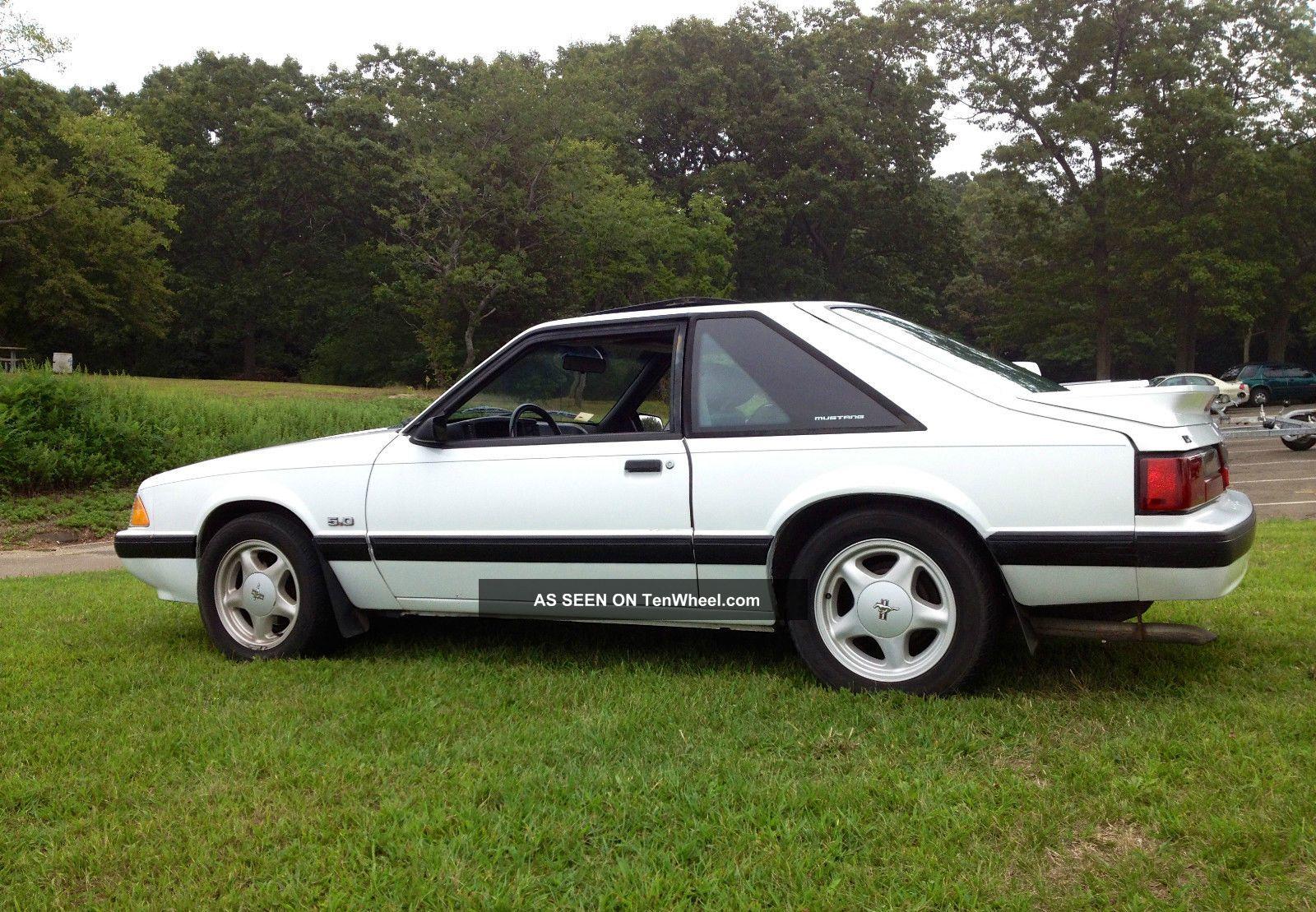 1989 ford mustang lx hatchback 2 door 5 0l automatic. Black Bedroom Furniture Sets. Home Design Ideas