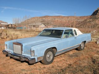 1978 Lincoln Continental Town Coupe Classic In Good Shape photo