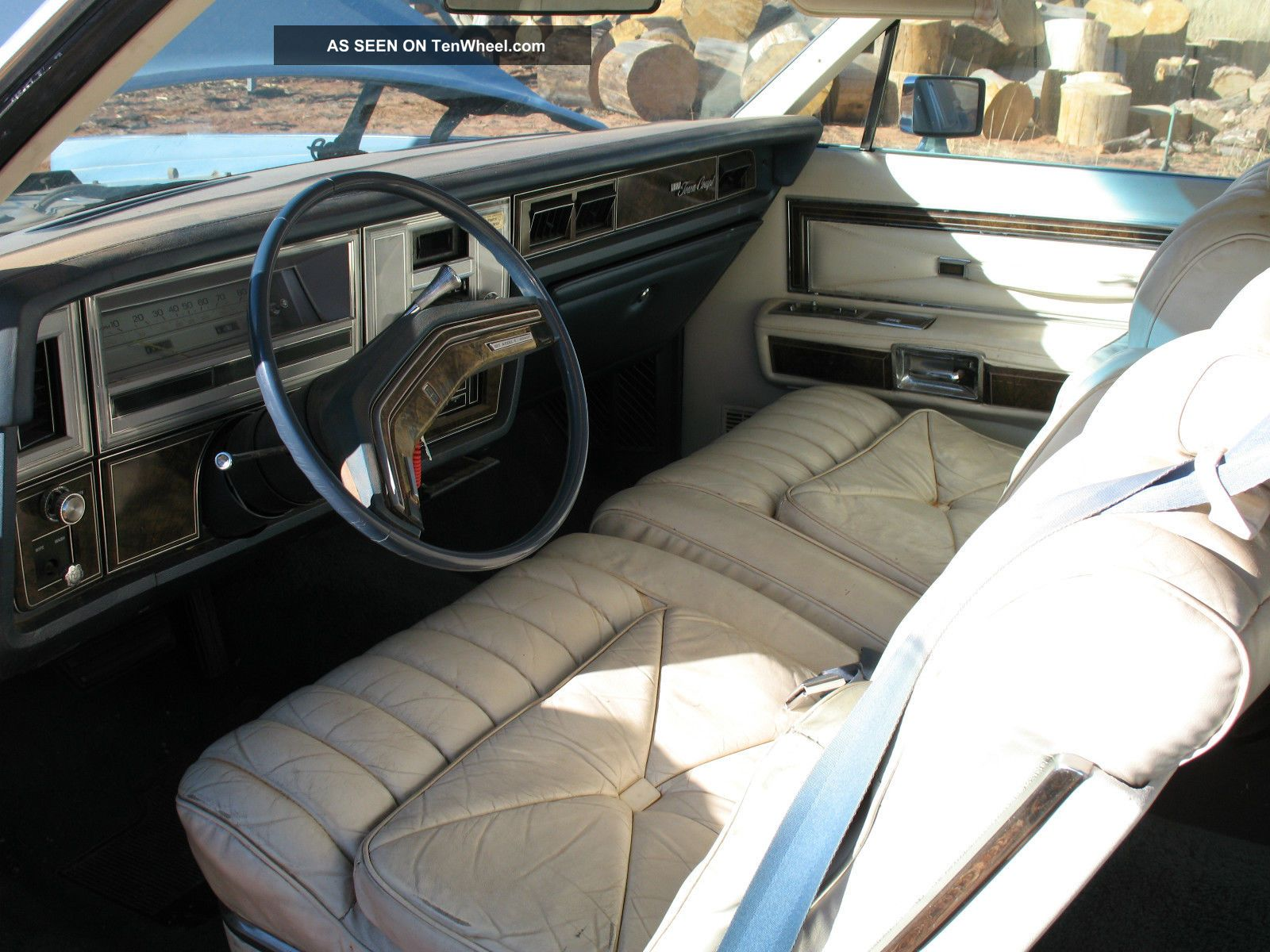 1978 Lincoln Continental Town Coupe Classic In Good Shape