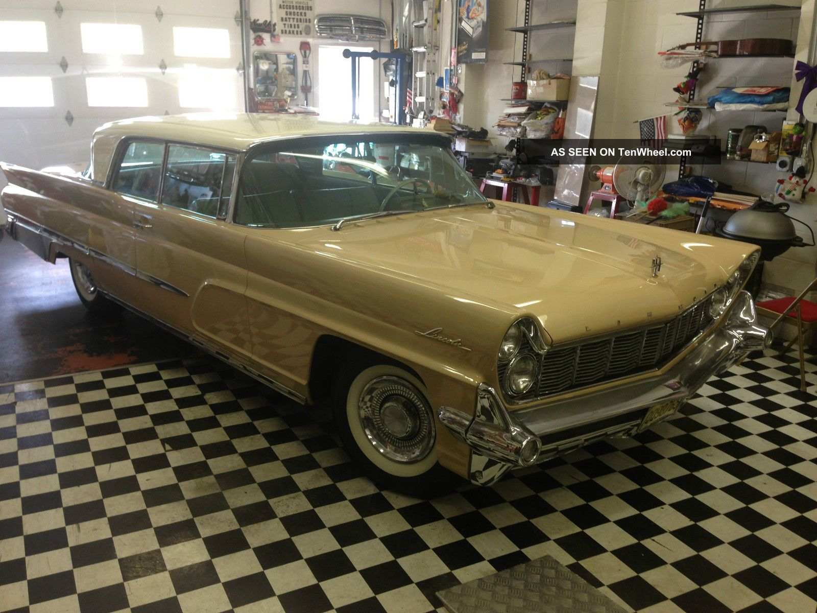 1959 Lincoln Capri Hardtop Coupe Lots Of Options Car In Nj Rare Other photo