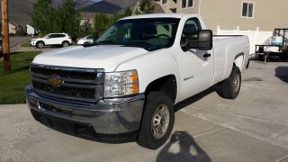 2011 Chevrolet Silverado 2500 Hd Wt Standard Cab Pickup 2 - Door 6.  6l photo