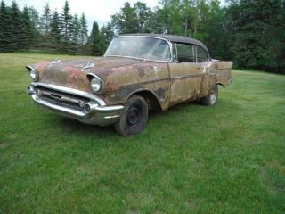 1957 Chevy 2 Door Hardtop photo