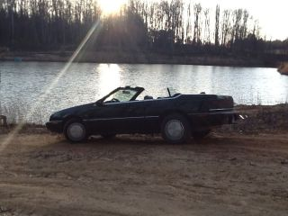 Fantastic Project Car - 1991 Chrysler Lebaron Convertible,  Loaded photo