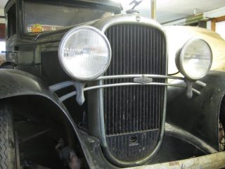 1931 Oldsmobile Deluxe Sport Coupe Dual Sidemounts,  Rumble Seat,  Golf Club Door photo