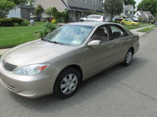 2002 Toyota Camry Le,  One Owner,  Runs And Drives Like A Dream photo
