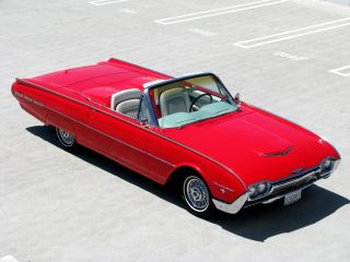 1962 Ford Thunderbird Convertible With Sports Roadster Tonneau Package photo