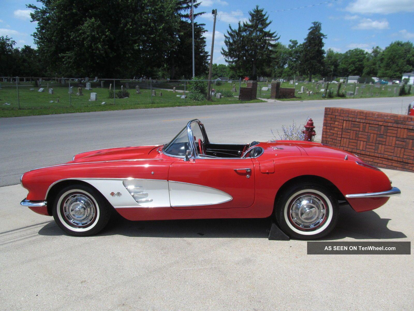 1959 Chevrolet Corvette Base Convertible