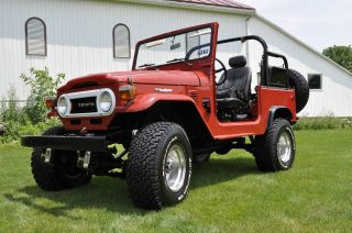 Toyota Fj40 Landcruiser 1978 photo