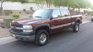 2002 Chevrolet Silverado 2500hd Crewcab 4x4 photo