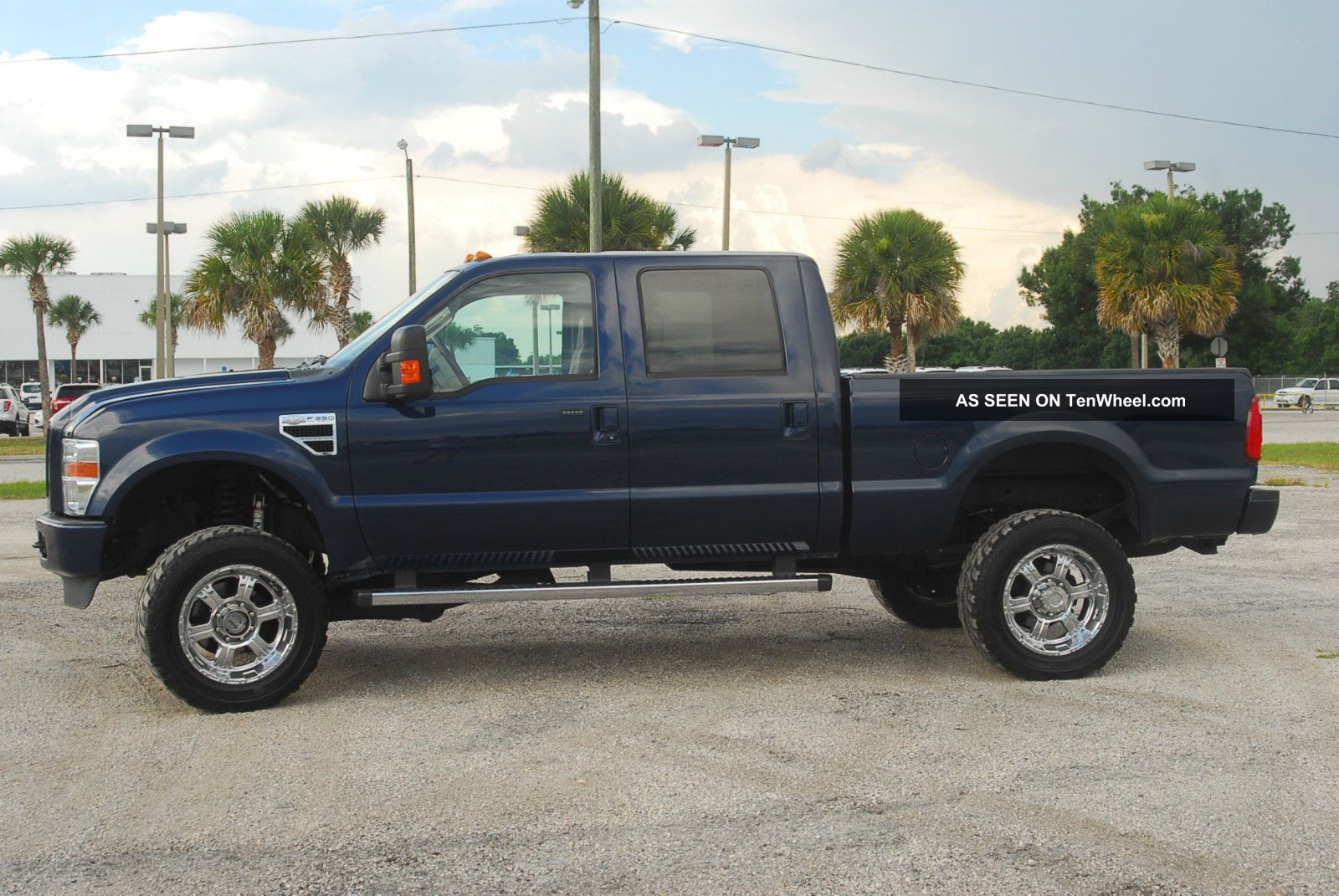 2008 ford f 250 duty king ranch crew cab short bed 6 4 diesel 4x4 custom. Black Bedroom Furniture Sets. Home Design Ideas
