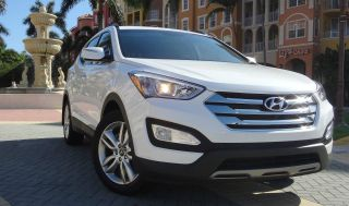 2013 Hyundai Santa Fe Sport 2.  0t Sport Utility 4 - Door 2.  0l Turbo Saddle photo
