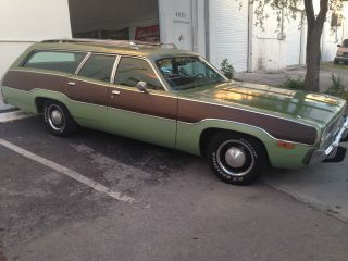 1973 Plymouth Satellite Wagon Surf Wagon photo
