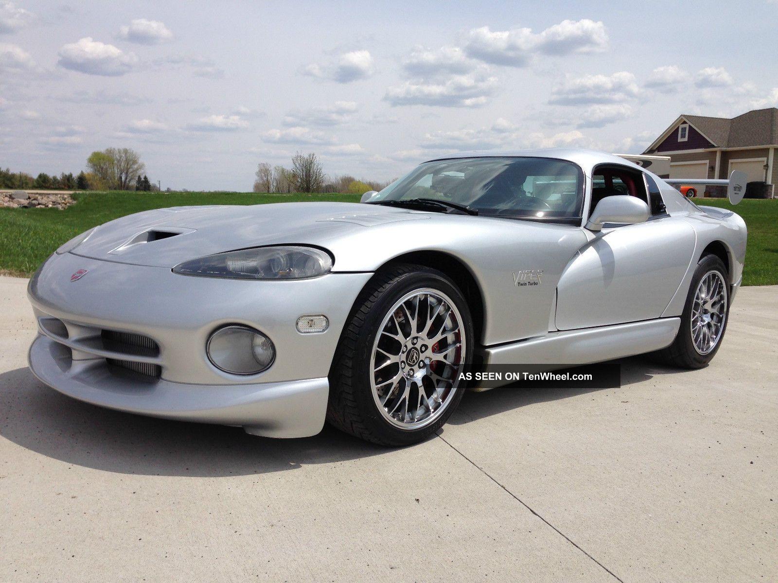 1998 Dodge Viper Gts Heffner Twin Turbo Tt Viper photo