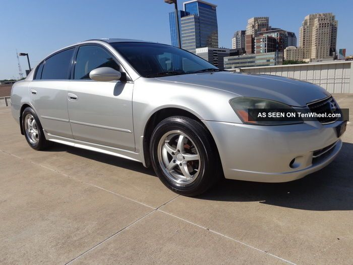 2005 nissan altima 2 5s auto silver custom wheels drives great tx no rust 2005 nissan altima custom interior
