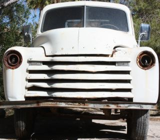1947 Chevrolet 4400 Series 161wb Commercial 1 1 / 2 Ton Truck W / Water Tank Project photo