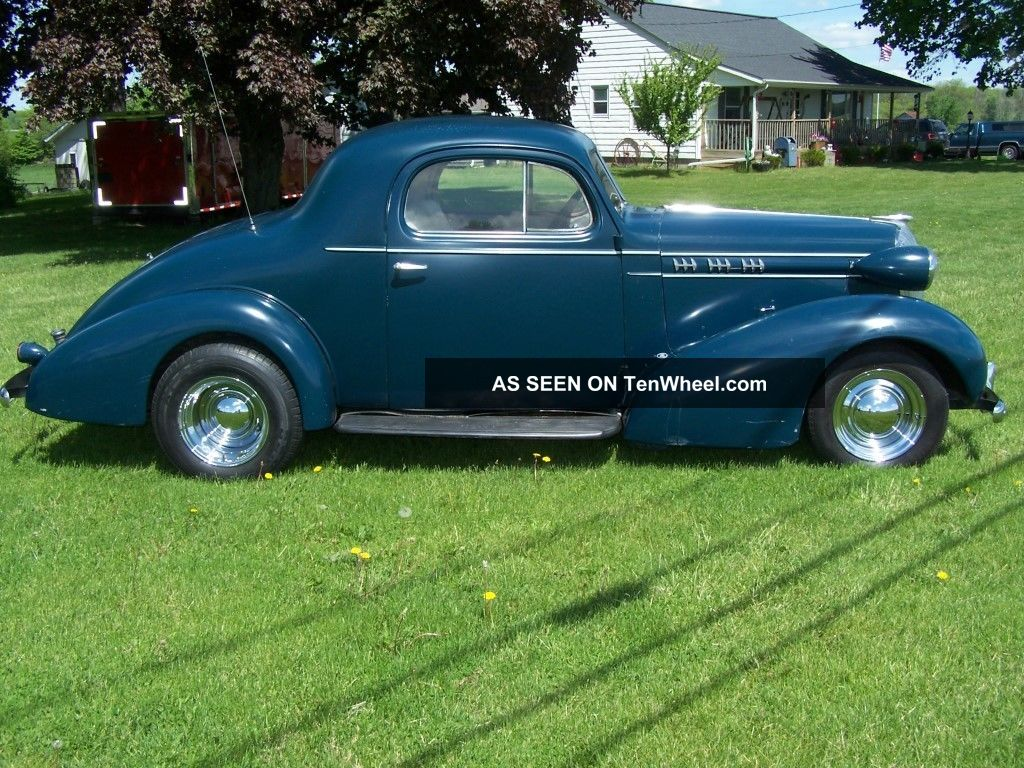 1936 oldsmobile 3 window business coupe street rod gasser