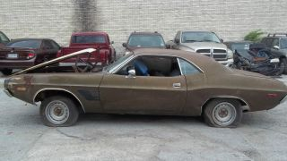 1974 Dodge Challenger Body Only No Motor Or Transmission Some Rust photo