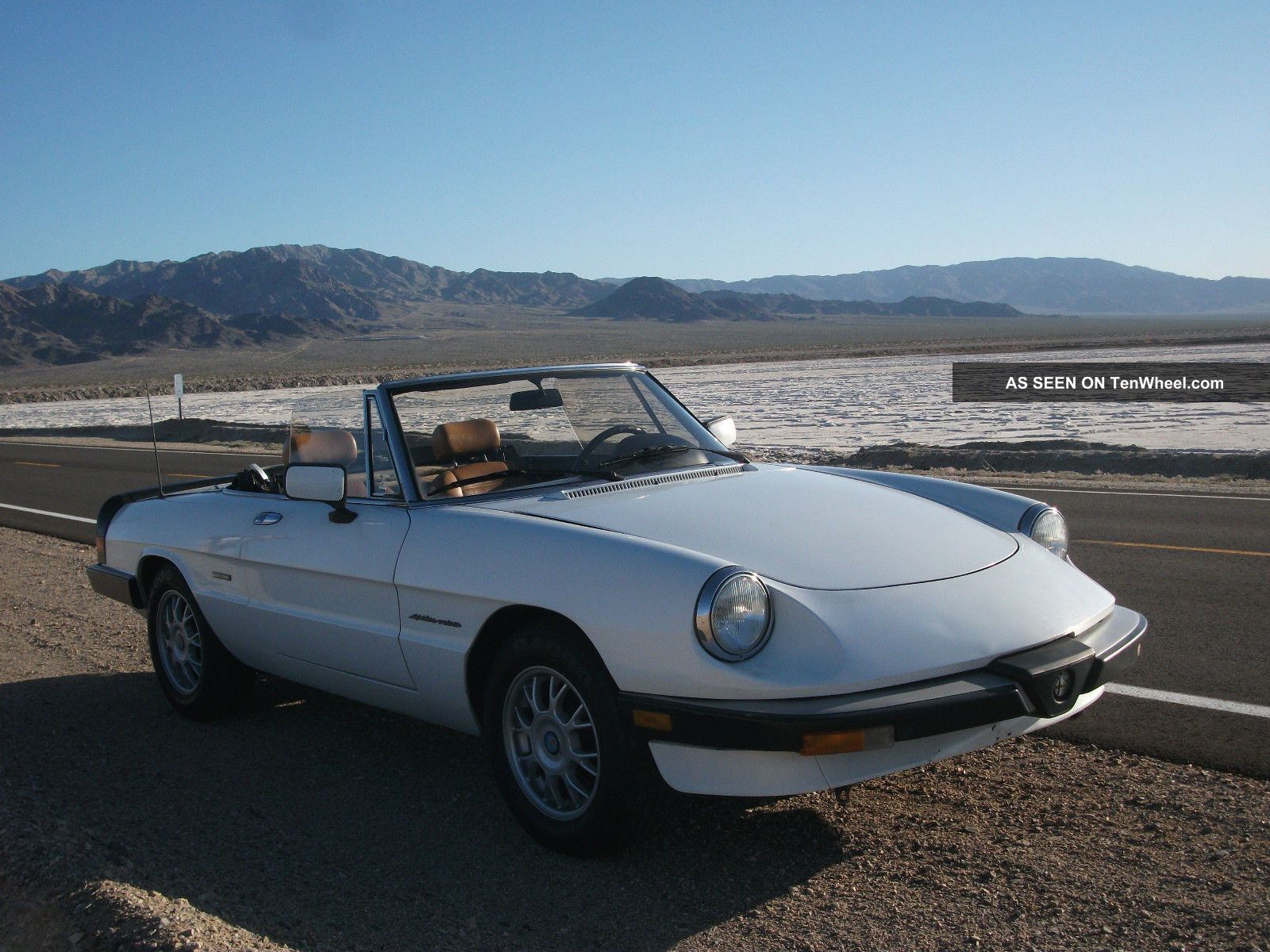 alfa romeo spider veloce convertible california car