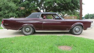 1969 Lincoln Mark Iii Base 7.  5l photo
