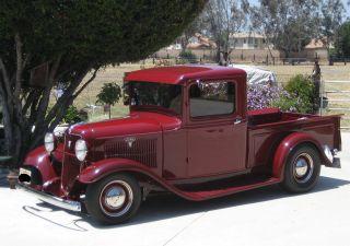 1934 Ford Pickup Flathead photo