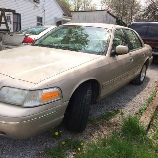 1998 Ford Crown Victoria 4 - Door 4.  6l Gold photo