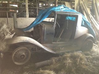 1931 Chevrolet 3 Window Coupe Barn Find photo