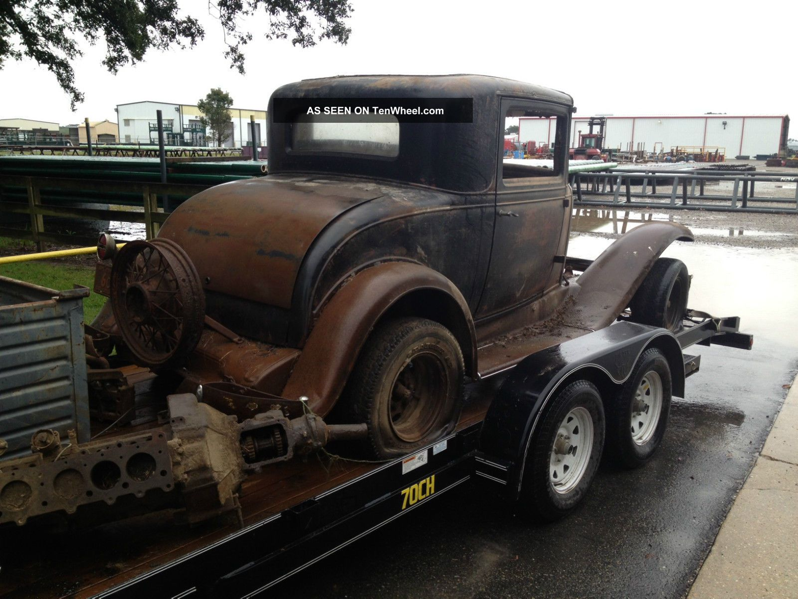 1931 chevrolet 3 window coupe barn find