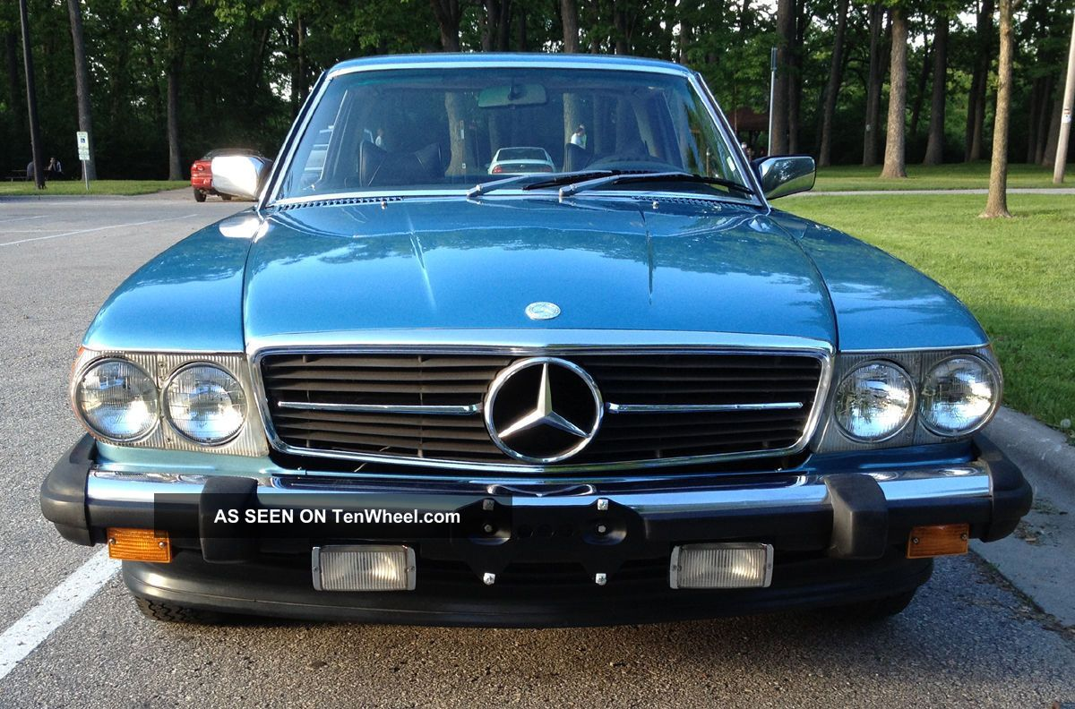 1979 mercedes benz 450slc luxury coupe great looking car
