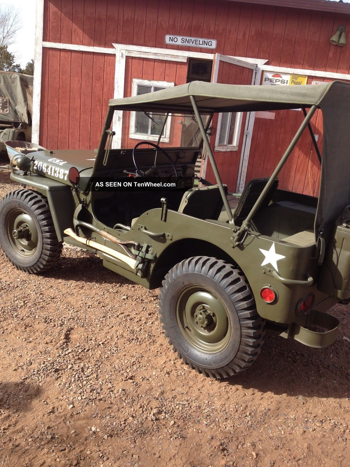 1945 Willys Jeep Mb