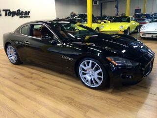 2008 Maserati Grand Turismo Coupe Black With Cuoiosella Saddle Cheapest photo