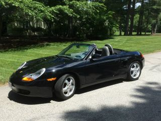 2000 Porsche Boxster Roadster Convertible 2 - Door 2.  7l,  17,  460 Mi,  Excell Shape photo