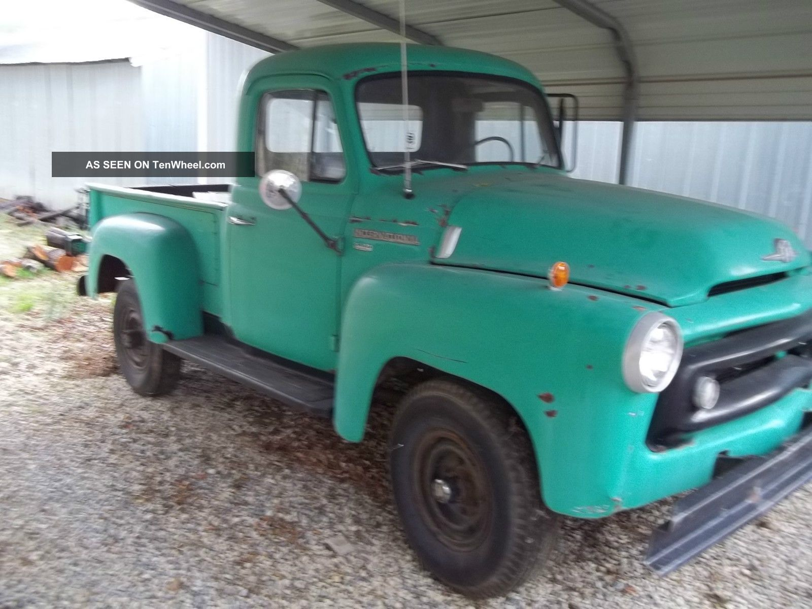 1957 International S - 120 4x4 Pick Up Rat Rod Other photo