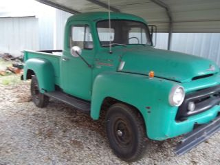 1957 International S - 120 4x4 Pick Up Rat Rod photo