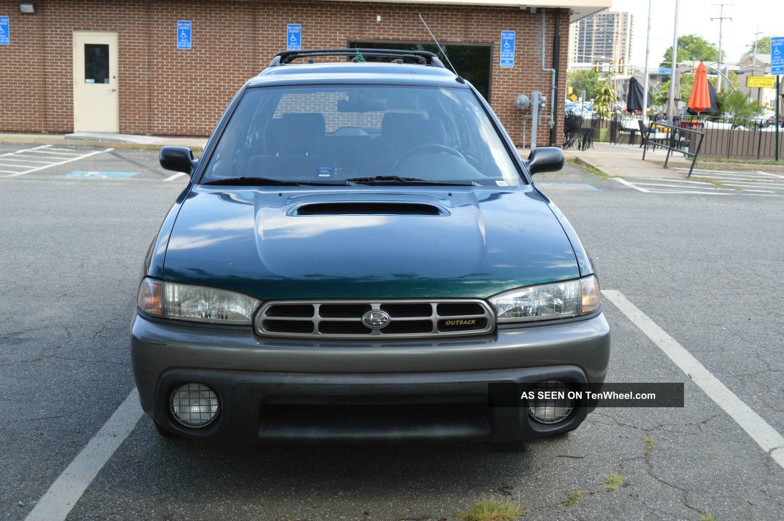 1998 Subaru Legacy Outback Wagon 4 - Door 2.  5l Legacy photo