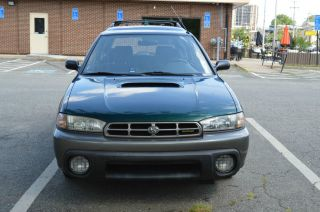 1998 Subaru Legacy Outback Wagon 4 - Door 2.  5l photo