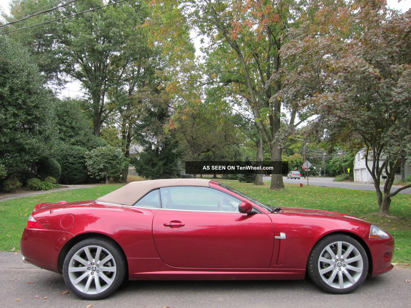 jaguar xk convertible 2007 priced to sell sharp. Black Bedroom Furniture Sets. Home Design Ideas