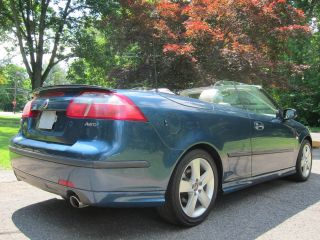 Saab 9 3 Aero Convertible 2006 Vandalized V6 Great Color Runs Well photo