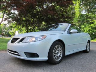 Saab 9 3 Convertible 2008 Rare 6 - Speed Manual photo