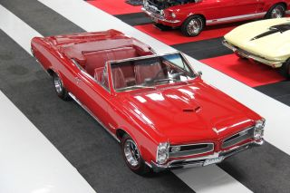 1966 Pontiac Gto Convertible,  Phs Documented photo
