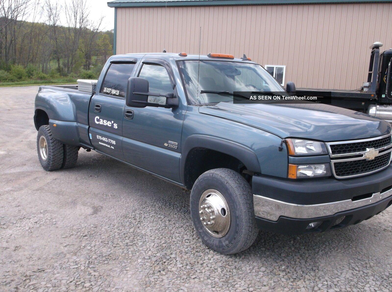 2006 Chevrolet 3500 4x4 Dually Crewcab Diesel Auto Silverado 3500 photo