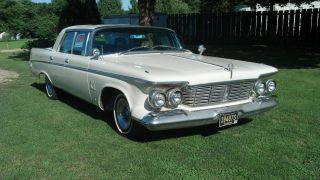 1963 Chrysler Imperial,  Paint,  Reupholstered Seats,  Automatic,  V8 413ci photo
