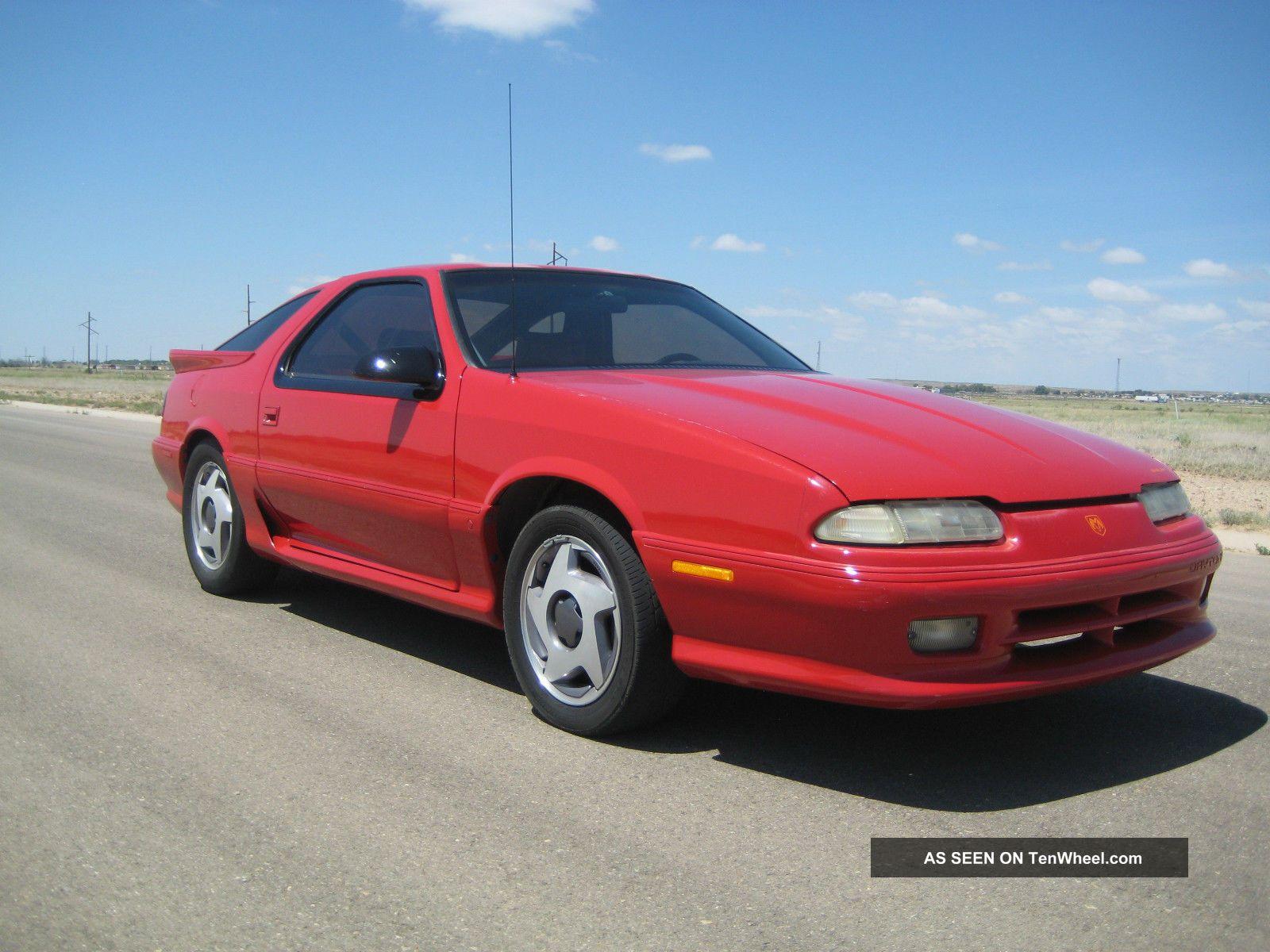 1992 Dodge Daytona Iroc Shelby 2 5 Turbo 5 Speed